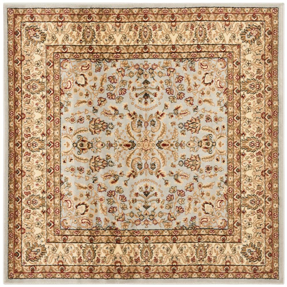 Safavieh Lyndhurst Gray Beige 7 Ft X 7 Ft Square Area