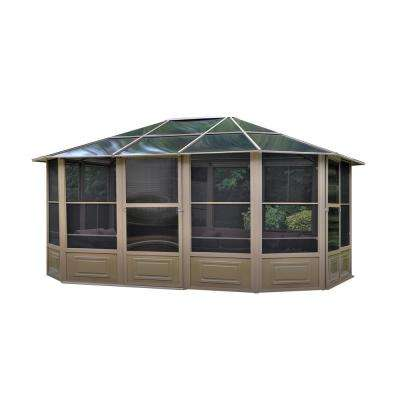 Florence Solarium 12 ft. x 15 ft. in Sand