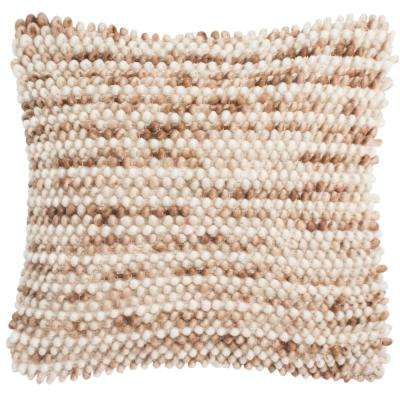 Pin Striped Loop Textures and Weaves Pillow