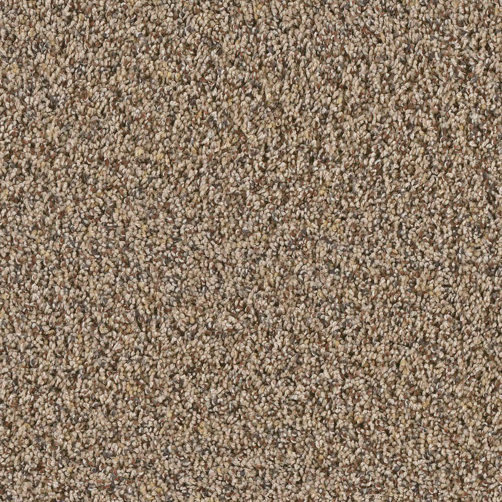 Duncan Woodrail Texture 18 in. x 18 in. Carpet Tile (10