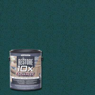 1 gal. 10X Advanced Tile Green Deck and Concrete Resurfacer