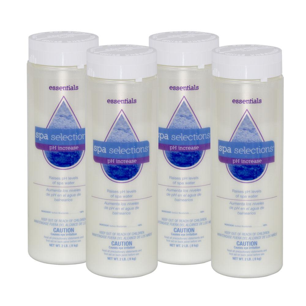Spa Selections Spa and Hot Tub 2 lb. pH Increaser (4-Pack)-51026A-04 ...