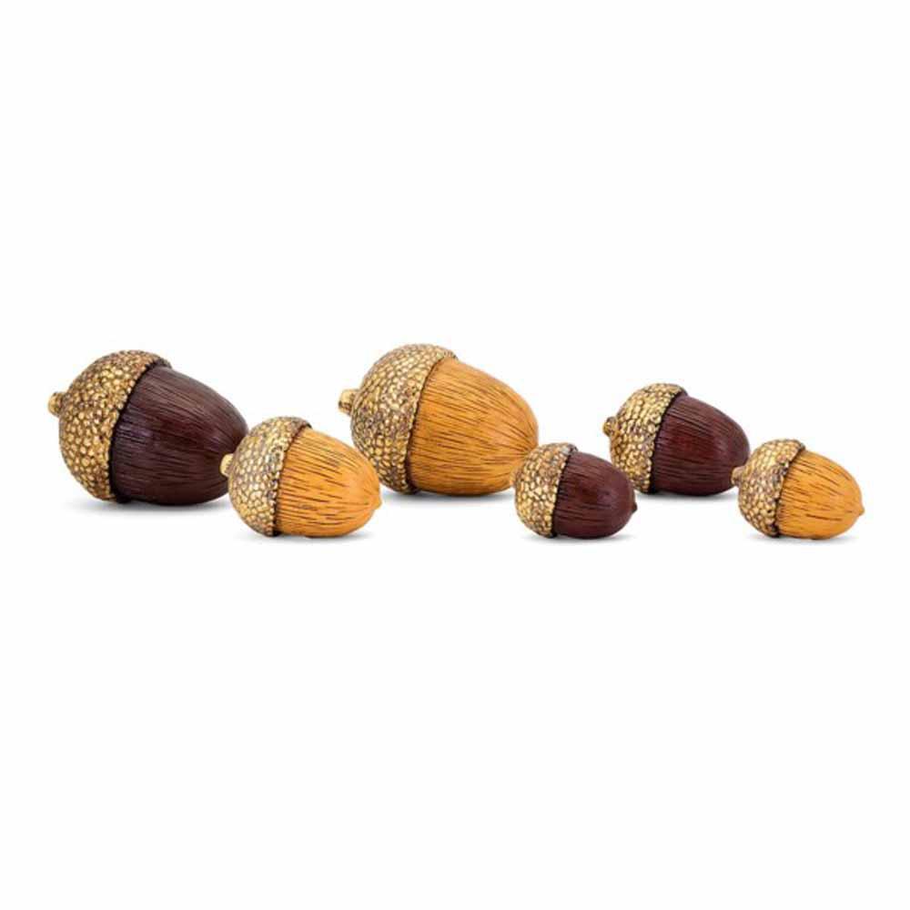 Harvest Acorn Filler (Set of 6)