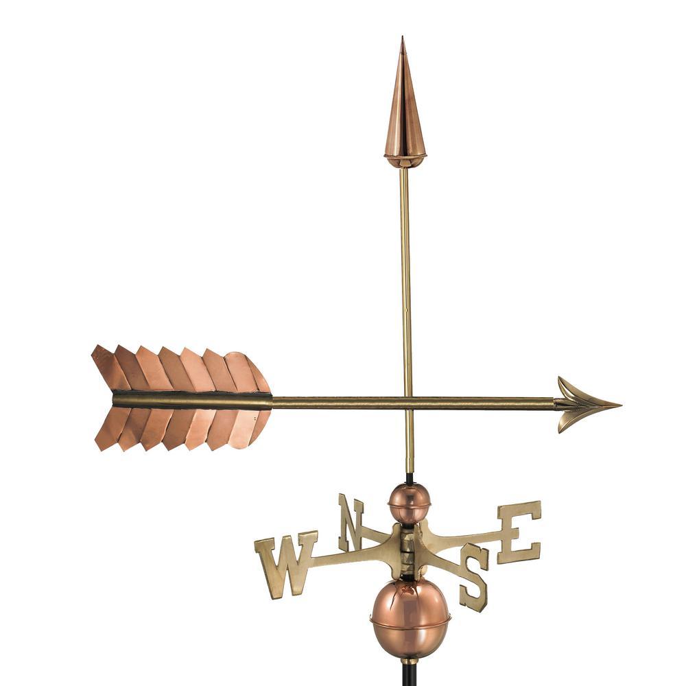Arrow Weathervane - Pure Copper