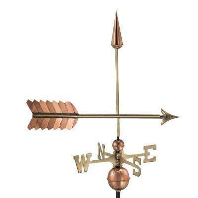 Arrow Weathervane - Pure Copper