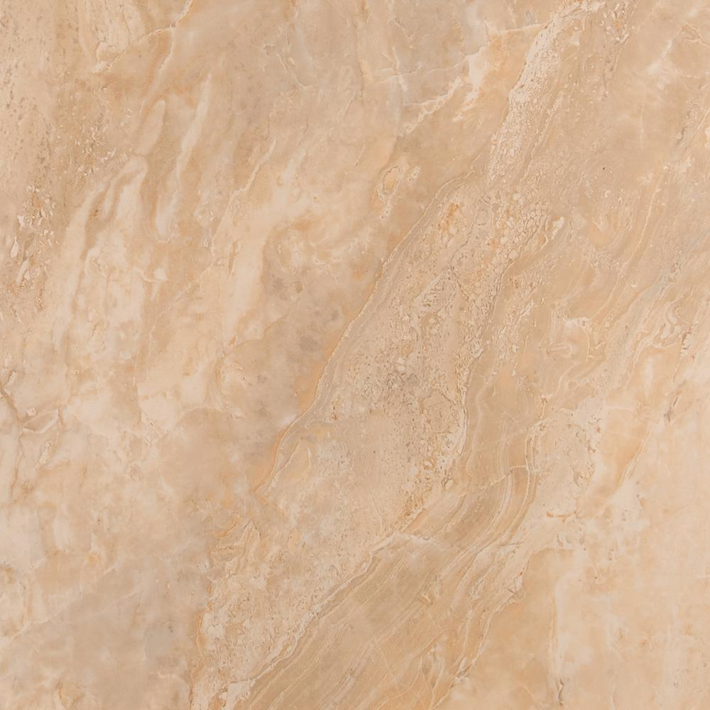 Onyx Sand 18 in. x 18 in. Glazed Porcelain Floor and
