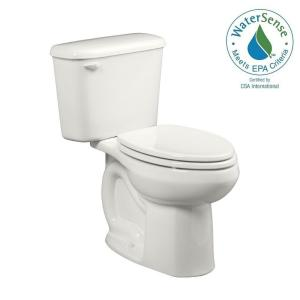 American Standard Colony Tall Height 10 inch Rough-In 2-piece 1.28 GPF Single Flush High-Efficiency Elongated Toilet in... by American Standard