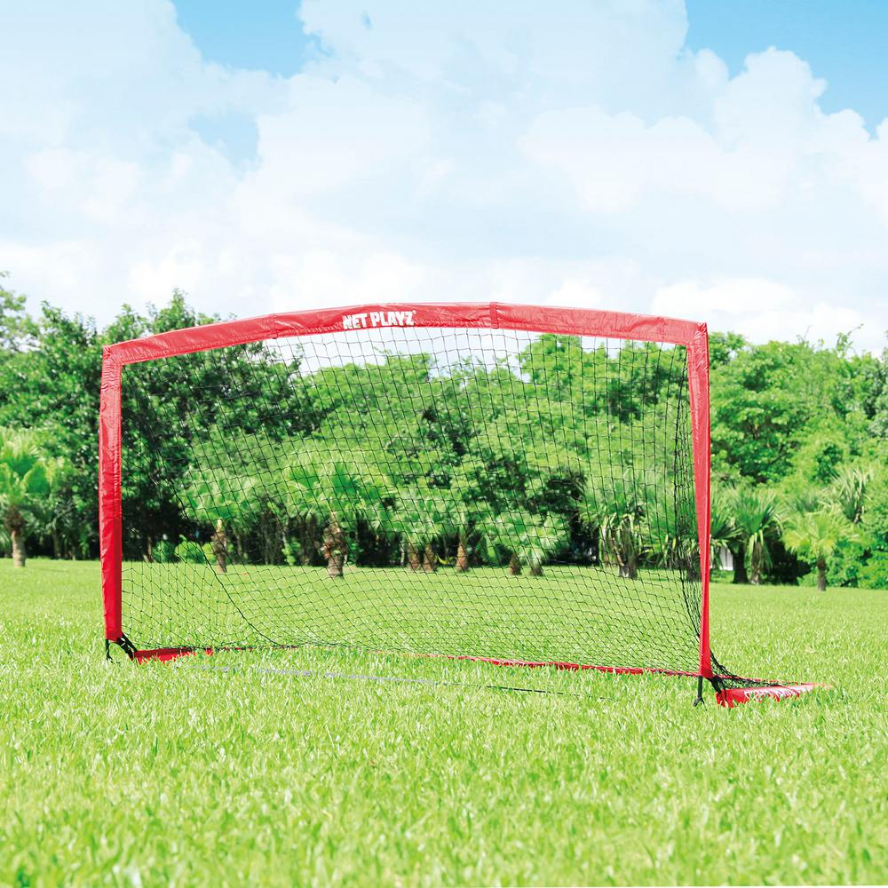 TRI GREAT USA Net Playz Soccer Speedy Playz Medium Instant Portable Soccer Goal