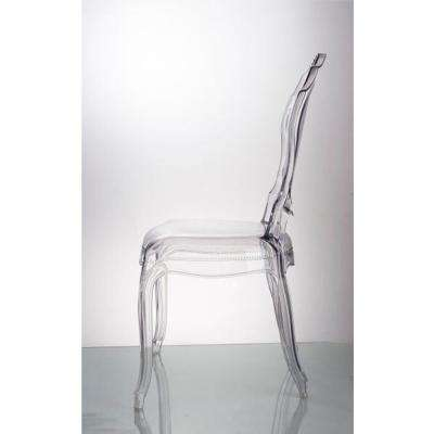 Clear Traditional Dining Chair