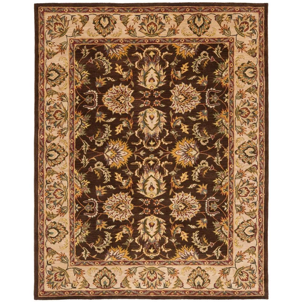 Heritage Brown/Ivory 8 ft. 3 in. x 11 ft. Area Rug