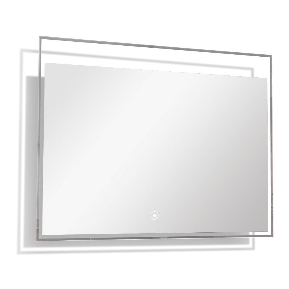 Taylor 35.43 in. x 23.62 in. Single Frameless LED Mirror