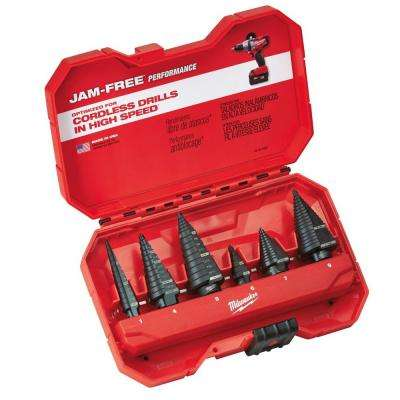 Step Drill Bit Kit (6-Piece)