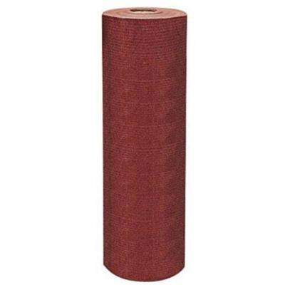 6 ft. x 150 ft. Heavy-Duty Sun Screen Fabric Shade Canopy in Harvest Red