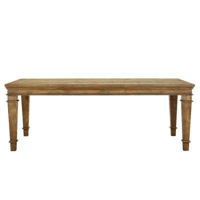 Highland Sandblasted Natural Dining Table
