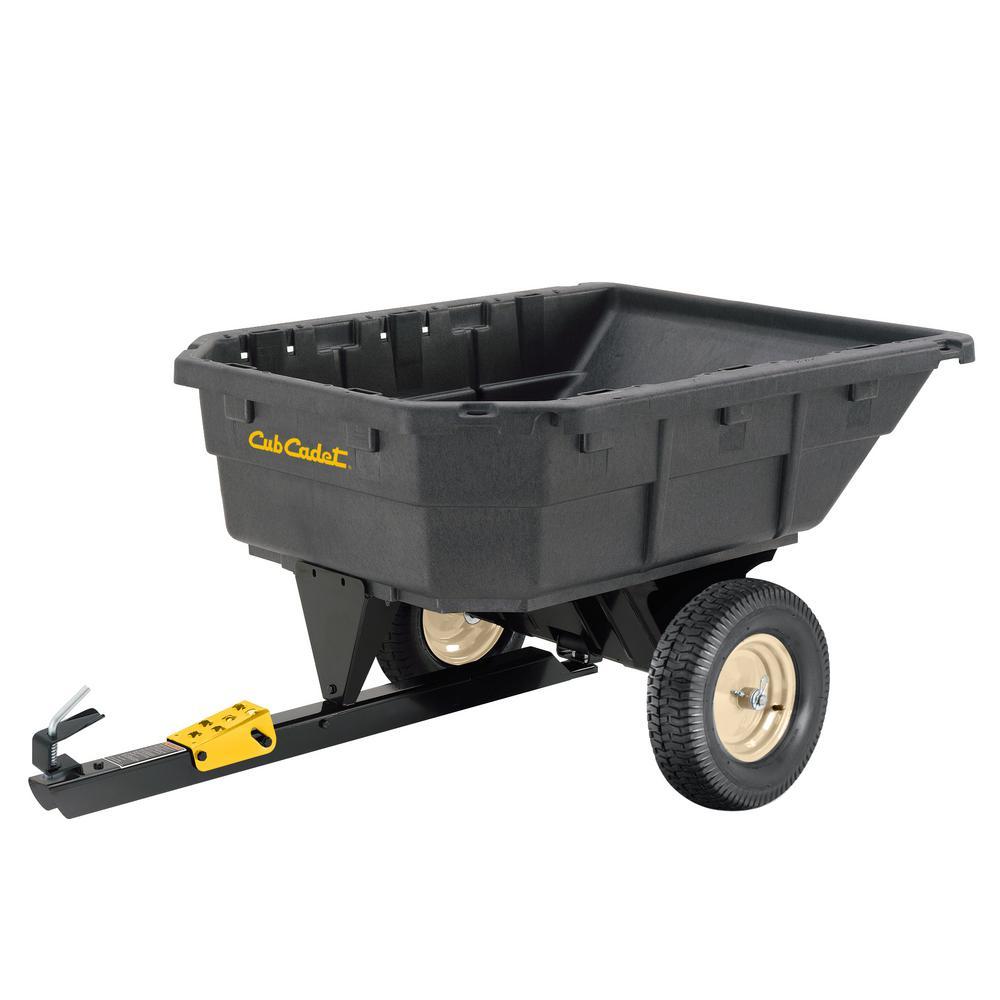15 cu. ft. Poly Swivel Dump Cart