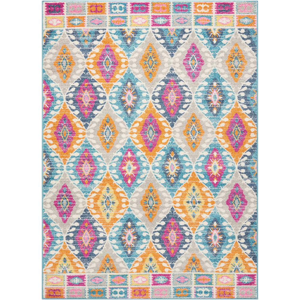 Passion Multicolor 5 ft. 3 in. x 7 ft. 3 in.