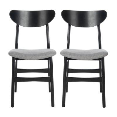 Lucca Black/Gray Dining Chair