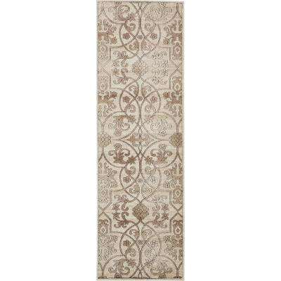 Rushmore Washington Dark Beige 3' 0 x 9' 10 Runner Rug