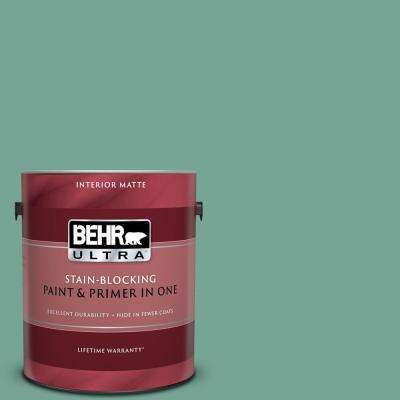1 gal. #MQ6-38 Patina Matte Interior Paint and Primer in One