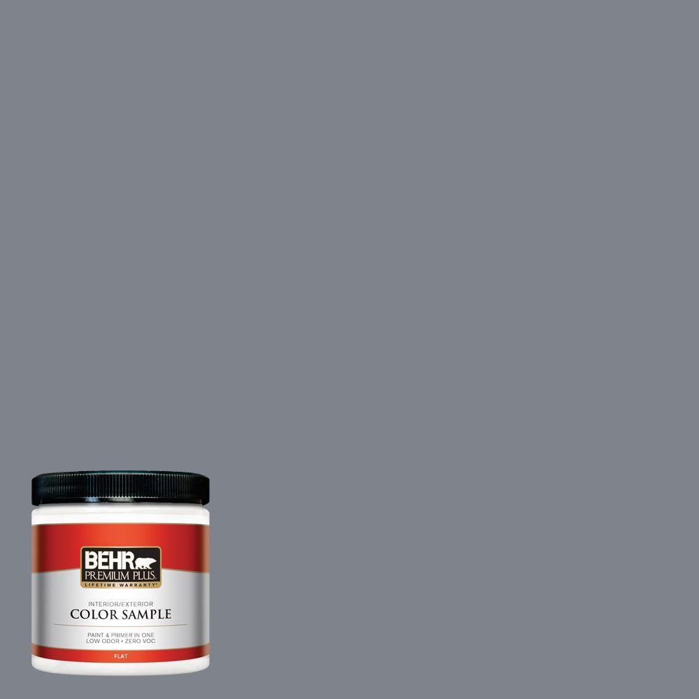 BEHR Premium Plus 8 oz. #760F-5 Milestone Interior/Exterior Paint Sample