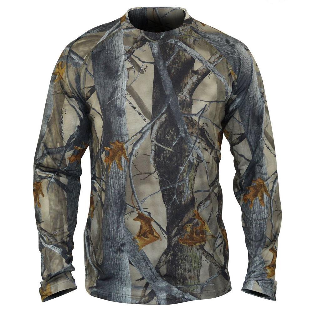 TrueTimber Camo SilverTec Men's Large XD3 Camo Performance Long Sleeve T-Shirt by TrueTimber Camo