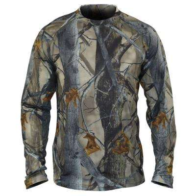 SilverTec Men's Large XD3 Camo Performance Long Sleeve T-Shirt
