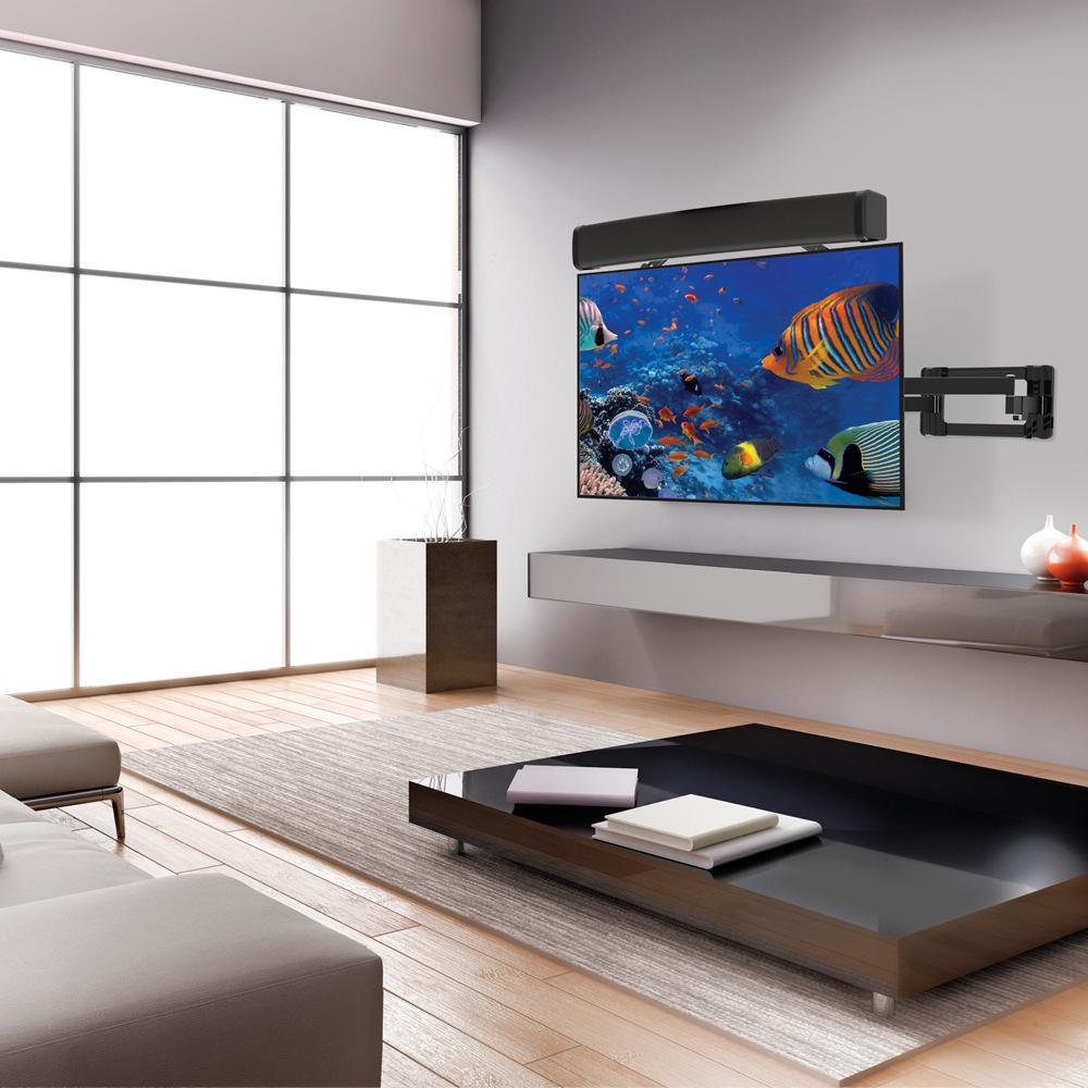 Universal Sound Bar Speaker Bracket Under TV Wall Mount 14LBS