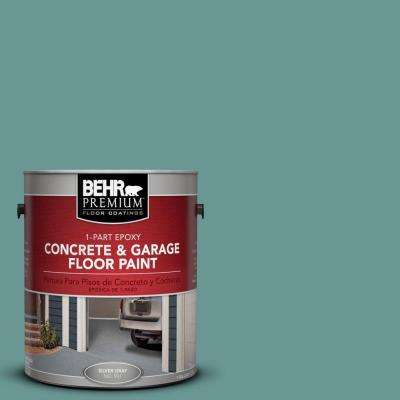 1 gal. #PFC-48 Aqua Marble 1-Part Epoxy Concrete and Garage Floor Paint