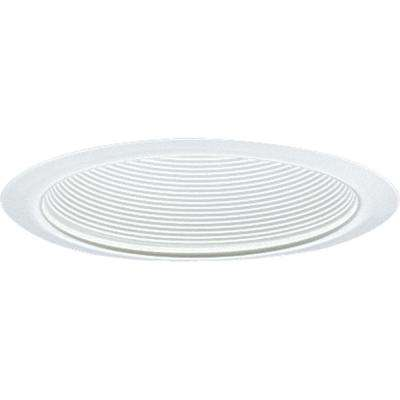6 in. White Recessed Baffle Trim