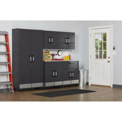 Viking Way 24 in. H x 29 in. W x 11 in. D Steel Gray Wall Mounted Cabinet