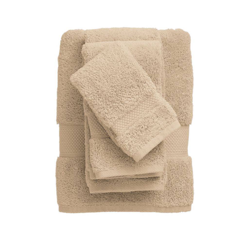 Legends Sterling Straw Solid Supima Cotton Bath Towel