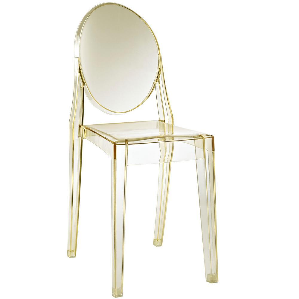 Casper Yellow Dining Side Chair