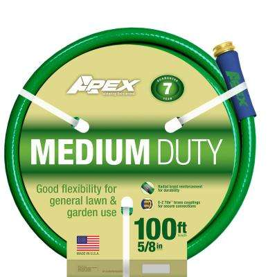 5/8 in. Dia x 100 ft. Medium Duty Water Hose