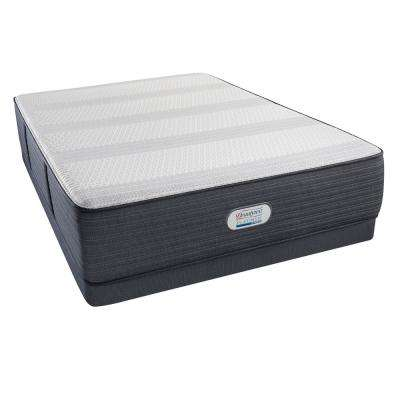 Platinum Hybrid Crescent Valley Luxury Firm Queen Low Profile Mattress Set