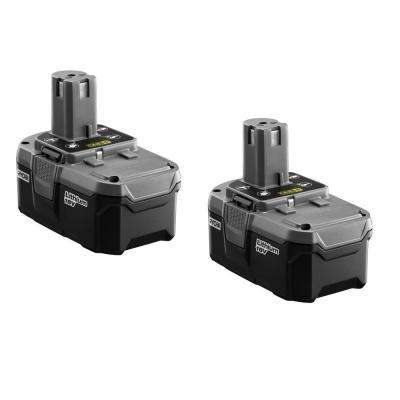 18-Volt ONE+ High Capacity Lithium-ion Battery (2-Pack)