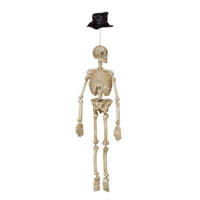 40 in. Motion Activated Hanging Skeleton