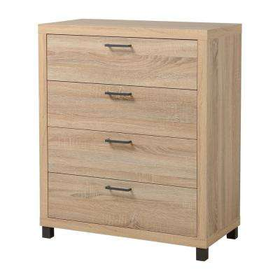 Thornton 4-Drawer Driftwood Chest