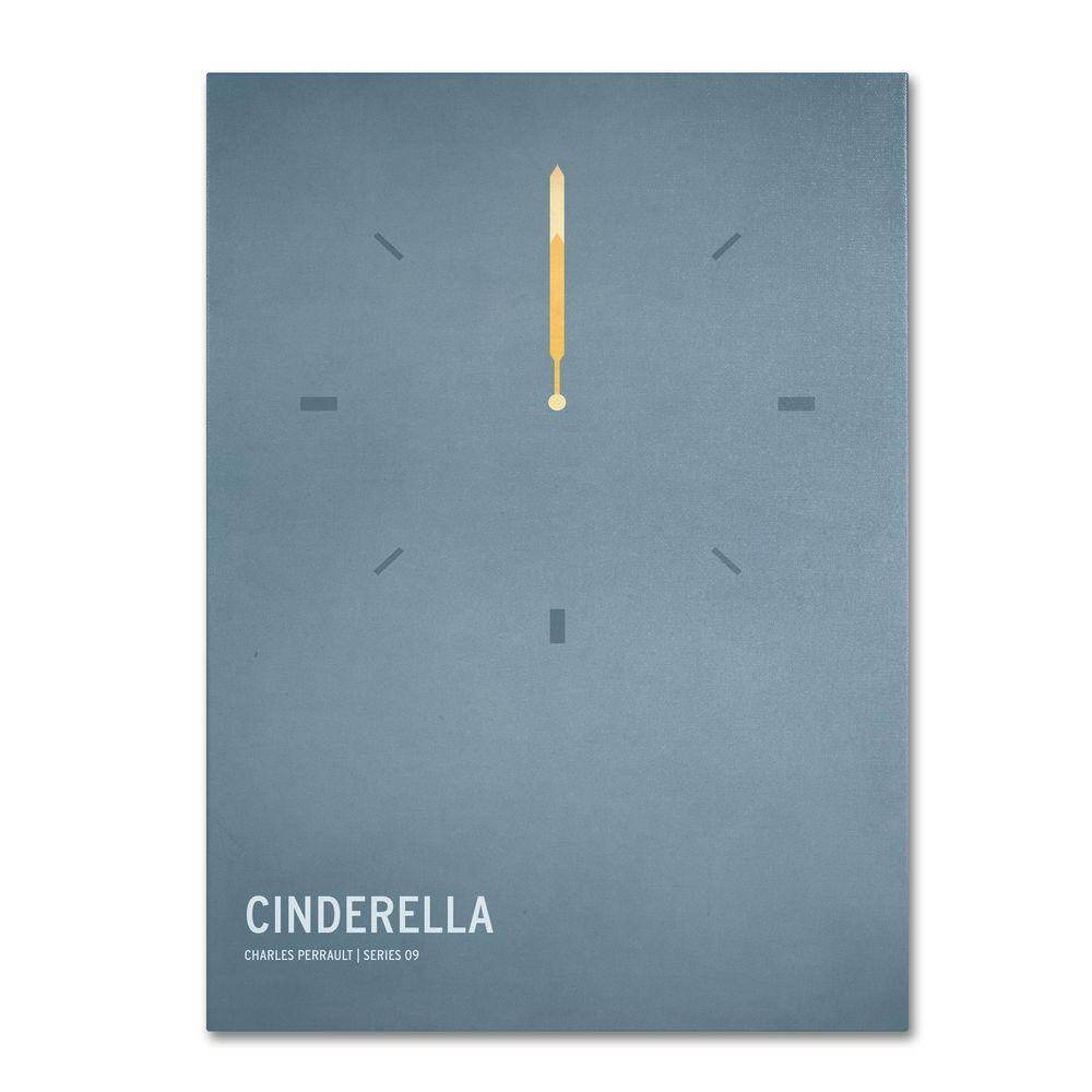 Trademark Fine Art 14 in. x 19 in. Cinderella Canvas Art