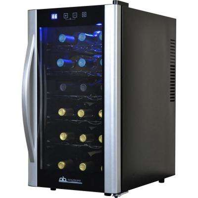 Single Zone 13.6 in. 18-Bottle Wine Cooler