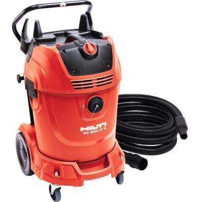 16 ft. Hose and 300 CFM VC 300-17X Universal 17 Gal. Wet Dry Vacuum Cleaner with Auto Filter Cleaner