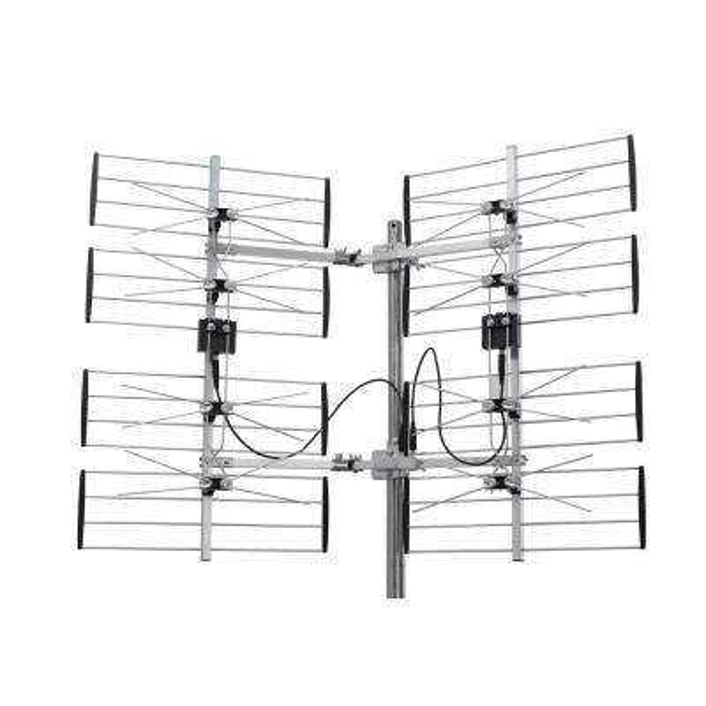 Digiwave 8 Bay Multidirectional Ultra Clear Digital Outdoor TV Antenna