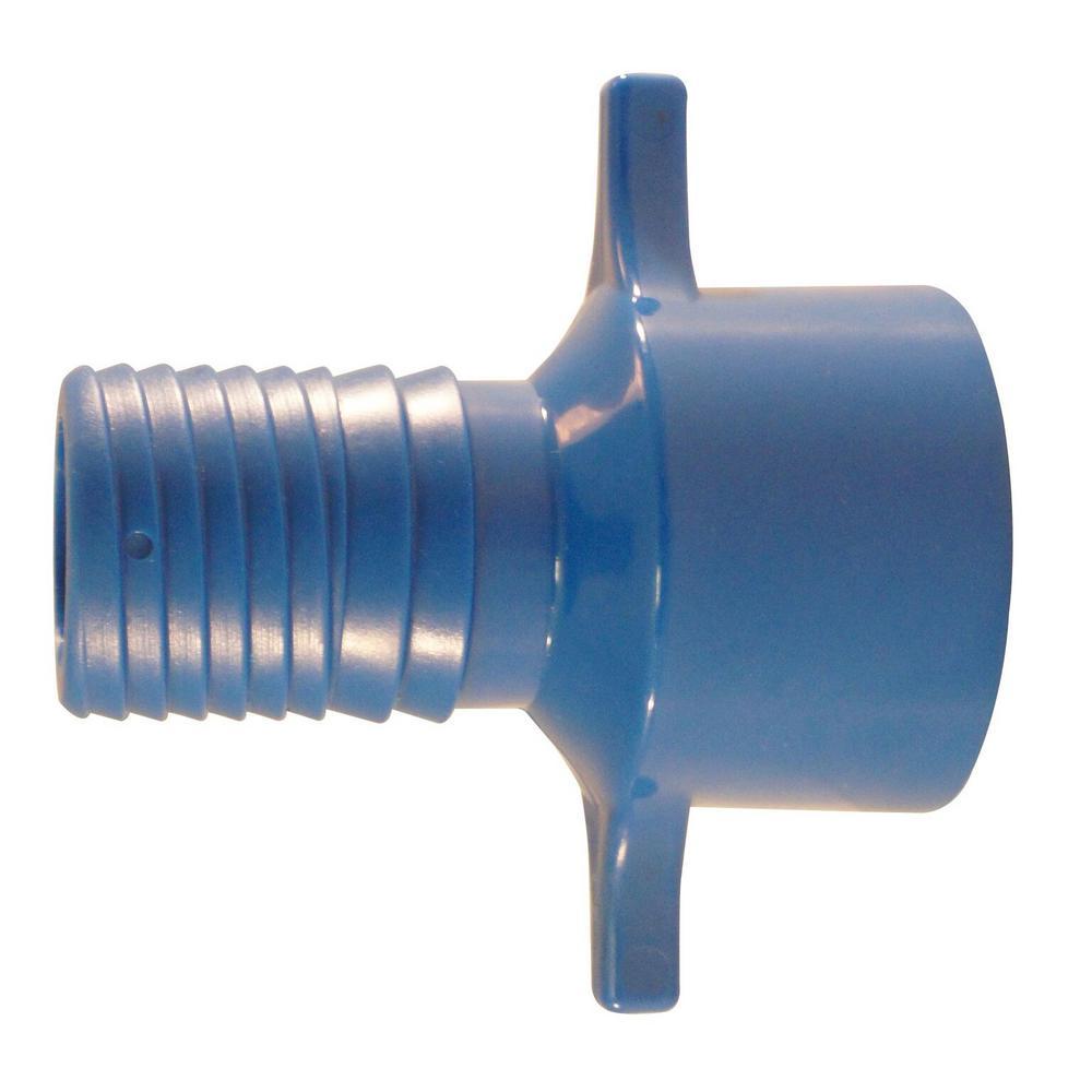 1 in. Blue Twister Polypropylene Insert x FPT