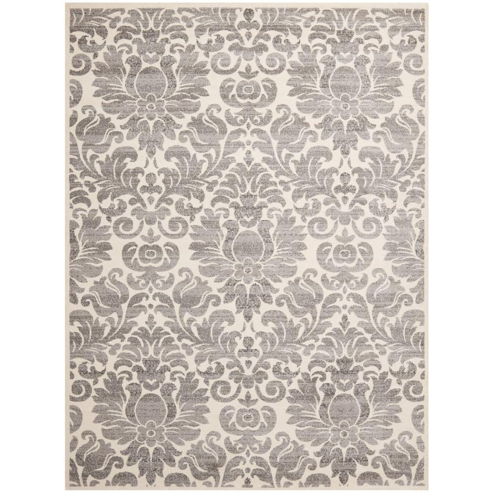 Safavieh Porcello Grey Ivory 8 Ft X 11 Ft 2 In Area Rug