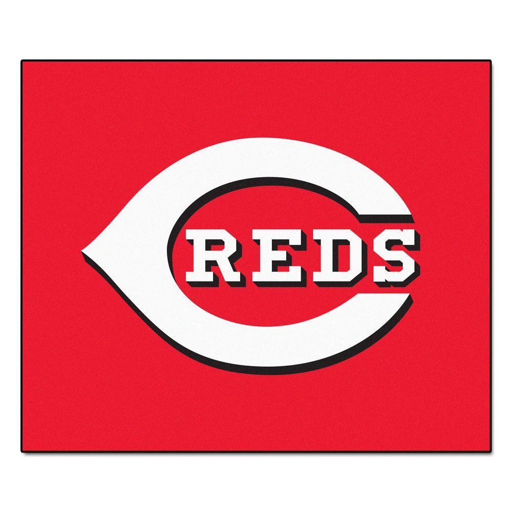 Cincinnati Reds 5 ft. x 6 ft. Tailgater Rug