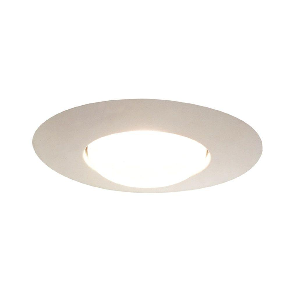 Halo 301 Series 6 in. White Recessed Ceiling Light Open Splay Trim (12-Pack)