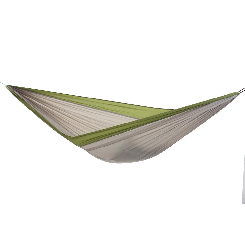 Vivere 9 Ft Cotton Double Hammock With Stand In Denim