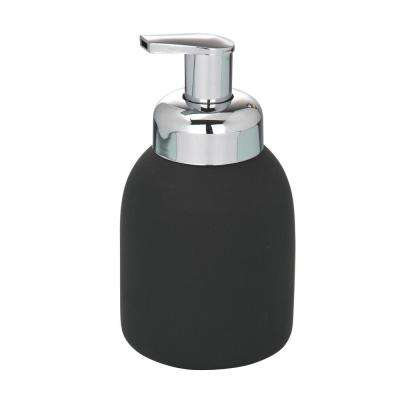Ceramic Foam Dispenser in Black