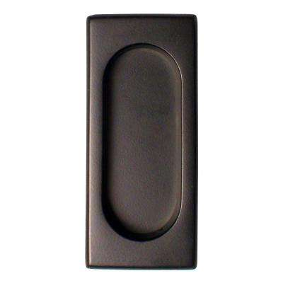 3-7/8 in. x 1-5/8 in. x 3/8 in. Oil Rubbed Bronze Large Flush Pull