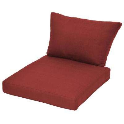 Beverly Chili Replacement Outdoor Sectional Cushion