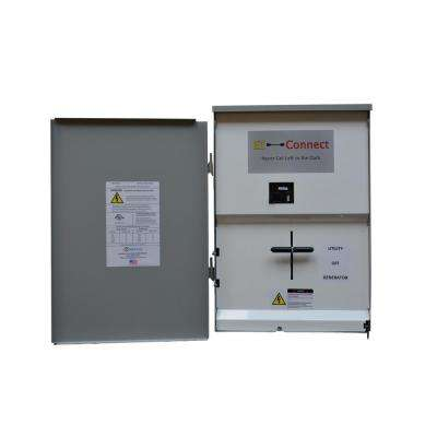 EZ-Connect Transfer Switch with 200 Amp Main Disconnect